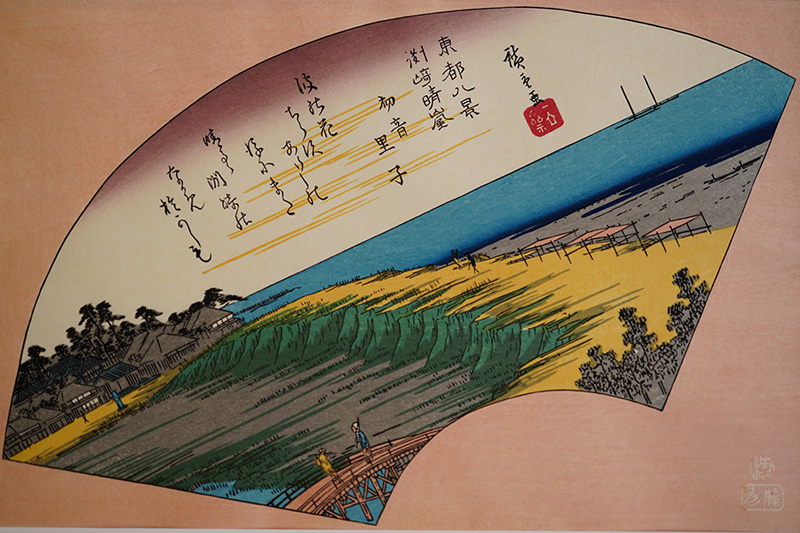 東都八景「上野晩鐘」